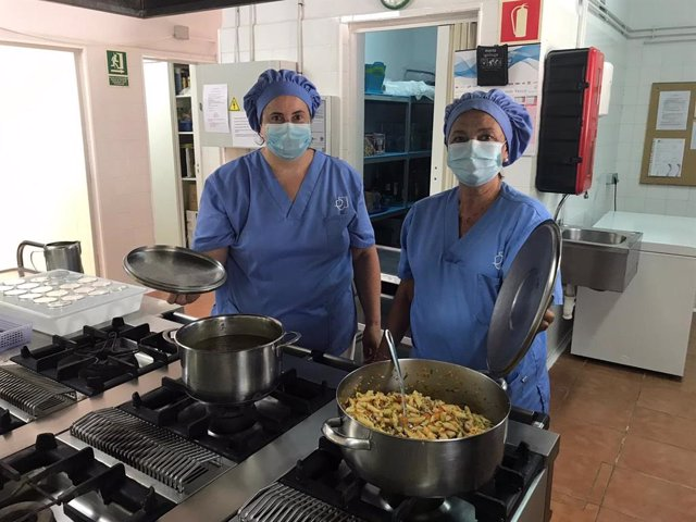 Cocineras del proyecto 'Escudella'.