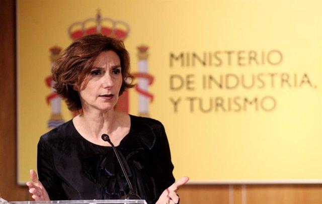 La secretaria de Estado de Turismo, Isabel Oliver.