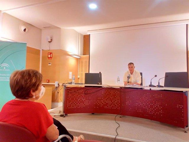 El delegado de Políticas Sociales de Almería, Antonio Jiménez