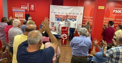La senadora socialista Pepa González Bayo, elegida candidata a la alcaldía de Cartaya (Huelva) por aclamación