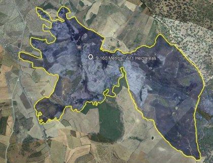Estabilizado el incendio forestal de Guijo de Galisteo (Cáceres), que calcina 111 hectáreas