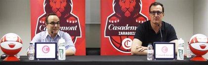 """Ocampo: """"Me he enamorado del proyecto de Casademont Zaragoza porque tiene una identidad de club y de baloncesto"""""""