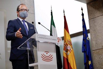 """Cs critica que no ha encontrado en el discurso de Vara una figura """"capaz de liderar"""" soluciones para Extremadura"""