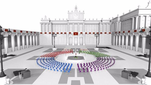Moncloa diseña un homenaje civil a las víctimas de la pandemia del Covid-19, con los Reyes, un centenar de afectados y sociedad civil