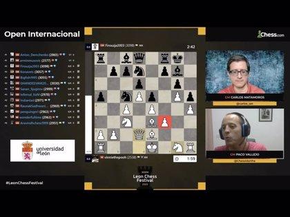 El V Open Magistral de León, epicentro del ajedrez mundial