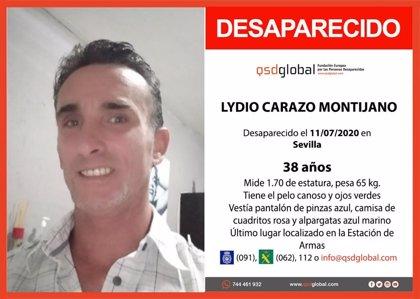 Desaparecido un hombre de 38 años en Sevilla capital