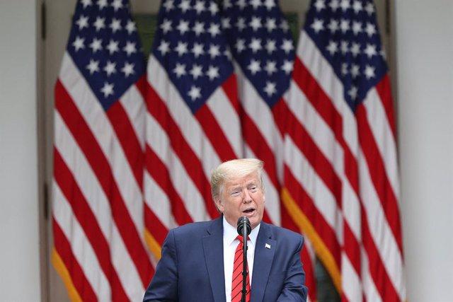 EEUU/China.-Trump anuncia nuevas sanciones a China y una orden ejecutiva que pon