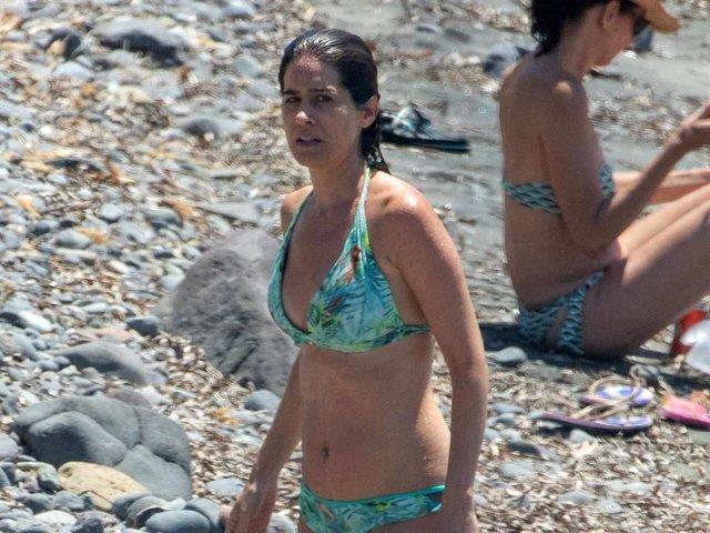 Isabel Jiménez está disfrutando de unas merecidas vacaciones en su Almería natal