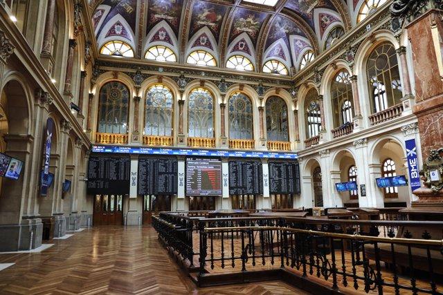 Interior del Palacio de la Bolsa, en Madrid (España), a 6 de julio de 2020.