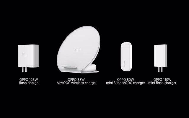 Oppo lanza sus nuevas soluciones de carga rápida inalámbrica de 65W y por cable