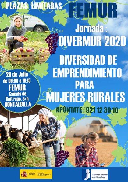 Femur celebra el 28 de julio la II Jornada para la diversidad en el emprendimiento de las mujeres rurales