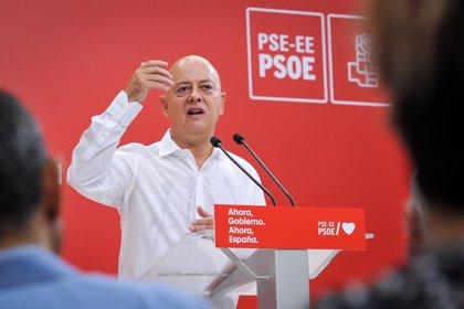Elorza (PSOE) cree que el Rey debería pedir al Gobierno que retire el título vitalicio a su padre