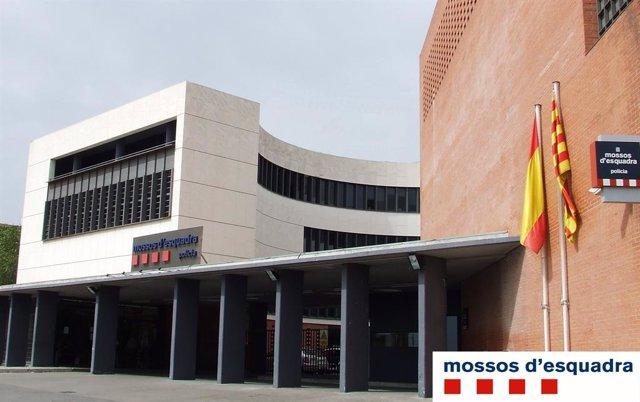 Comissaria dels Mossos d'Esquadra a districte de Nou Barris de Barcelona.