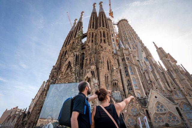 La Sagrada Família reobrirà les seves portes a tots els públics aquest dissabte 25 de juliol.