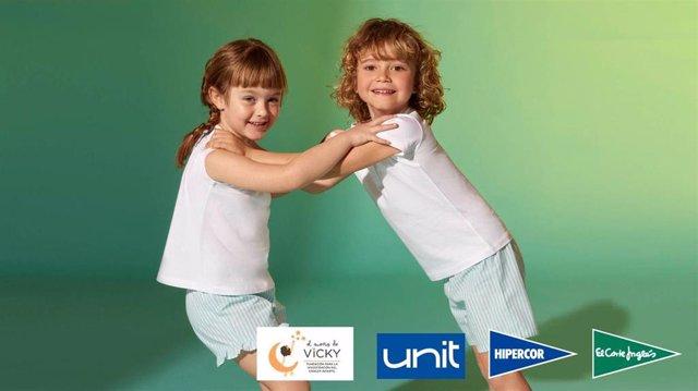 El Corte Inglés dona 21.698€ a la Fundación El Sueño de Vicky para investigar el cáncer infantil.