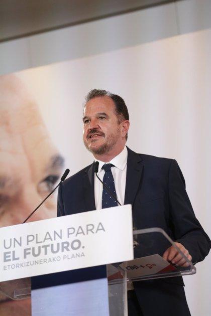 """Iturgaiz asegura que hay que """"reorganizar"""" el PP vasco después de haber """"tocado el suelo"""" en las elecciones"""