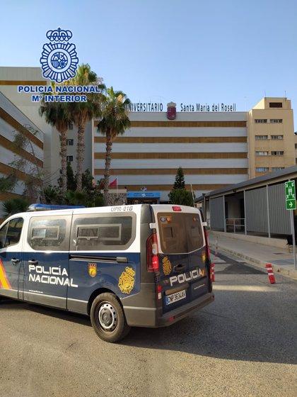 Detenido por estafar al taxista que le transportó desde Barcelona a Cartagena al huir sin pagar la carrera