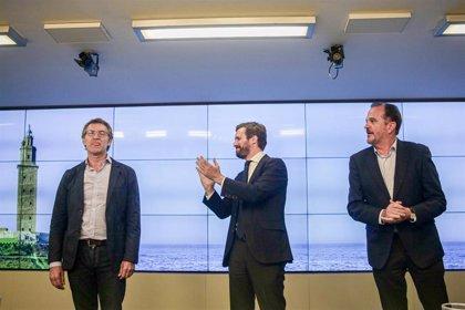 """Feijóo defiende un PP """"centrado y templado"""" para que el populismo quede fuera del Congreso como en Galicia"""