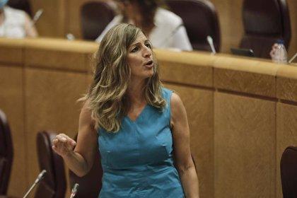 Díaz pide la convalidación de la prórroga de ERTEs en el Congreso para que España salga fortalecida del Covid