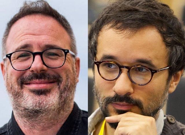Los periodistas Michele Catanzaro y Marco Boscolo