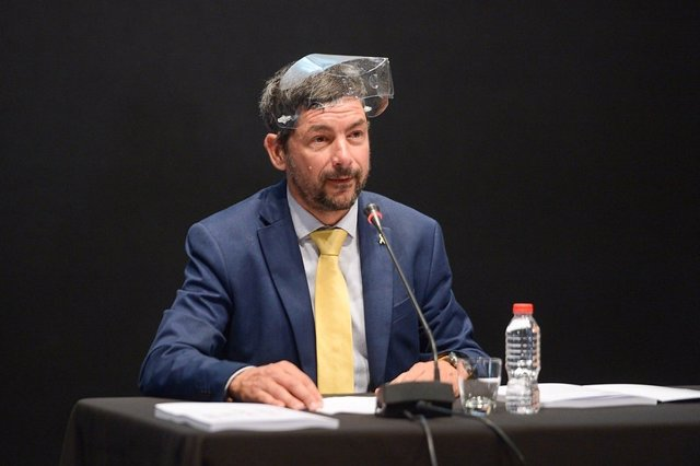 El presidente de la Cámara de Barcelona, Joan Canadell