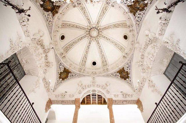 Interior del palacio de Peñaflor de Écija