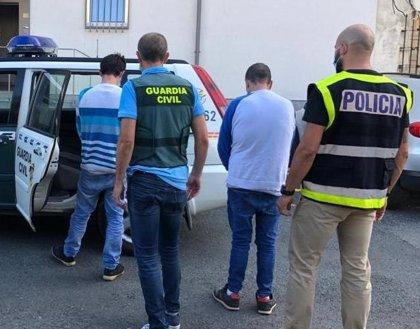 Cuatro detenidos por el robo con violencia en una gasolinera de Ferrol