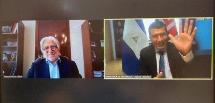 Sánchez Llibre (Foment del Treball) se reúne con el embajador de Nicaragua