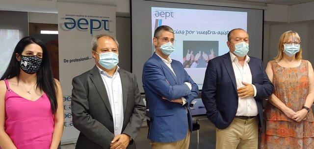 La Asociación Española de Profesionales del Turismo (AEPT) en su XLI Asamblea General Ordinaria ha elegido este miércoles a su junta directiva.