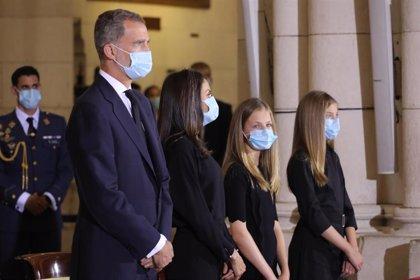 El Rey preside el homenaje de Estado a las víctimas de la pandemia