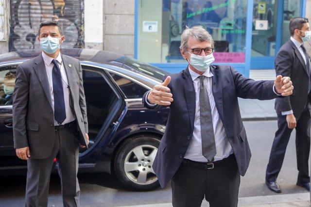 """UE.- Sassoli cree que sería """"absolutamente irresponsable"""" que el Consejo Europeo"""