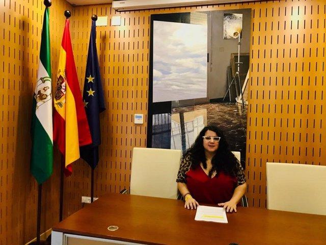 La asesora de programa del Instituto Andaluz de la Mujer (IAM) en Jaén, María José de la Torre/Archivo