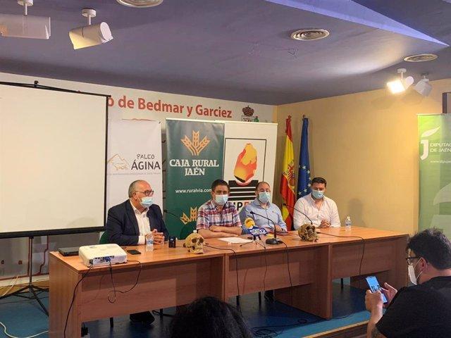 Inauguración del Campo de Voluntariado de Bedmar y Garcíez, en Jaén