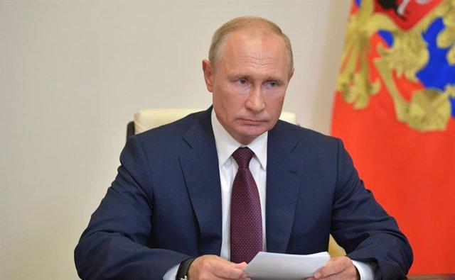 Rusia.- Cientos de personas protestas en Moscú contra las enmiendas constitucion