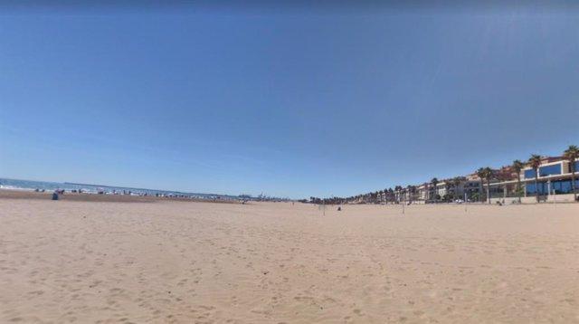 Playa en Alboraya (Valencia)
