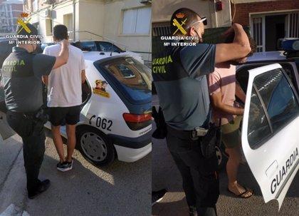 La Guardia Civil detiene a dos individuos cuando huían tras cometer un robo en una casa de Cehegín