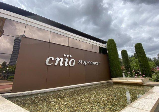 Sede del Centro Nacional de Investigaciones Oncológicas (CNIO), que ha desarrollado un procedimiento para la detección precoz del cáncer de páncreas, en Madrid (España), a 13 de mayo de 2020.