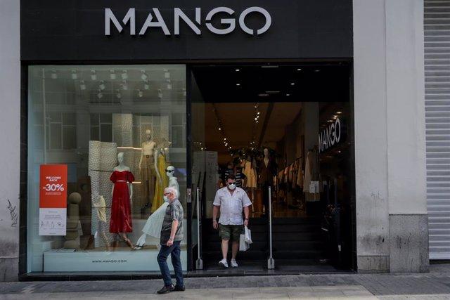 Botiga de Mango. Madrid (Espanya), 31 de maig del 2020.