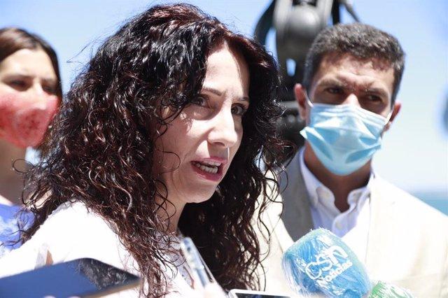 Rocío Ruiz, parlamentaria de Cs y consejera de la Junta, en una foto de archivo