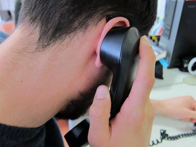 Imagen de recurso de teléfono fijo, llamada
