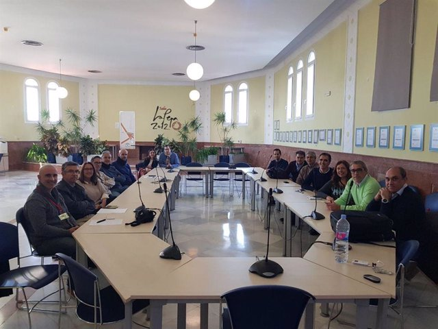 Miembbros del equipo TIC del Puerta del Mar