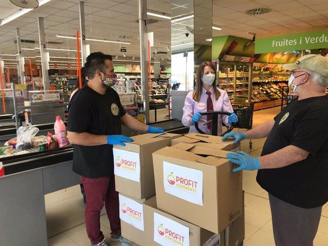 Coronavirus.- Consum dona 1.223 toneladas de alimentos entre mayo y junio