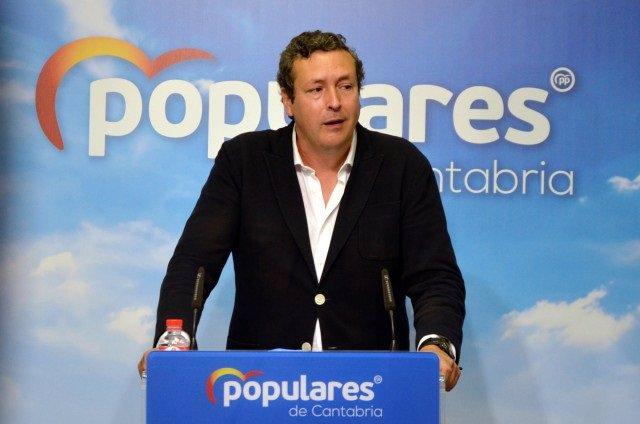 Iñigo Fernández, portavoz parlamentario del PP