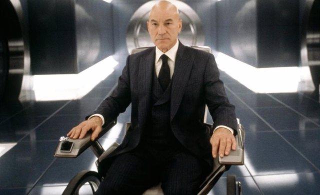 Sir Patrick Stewart en la primera entrega de X-Men