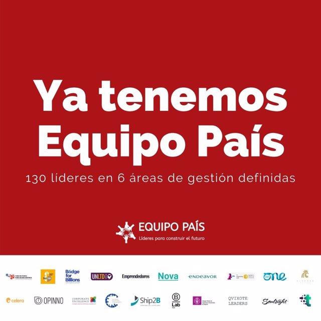 La iniciativa Equipo País selecciona a 130 líderes y gestores para ayudar al Gobierno a salir de la crisis