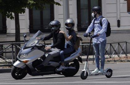 Solo el 16% de los conductores de motos es mujer