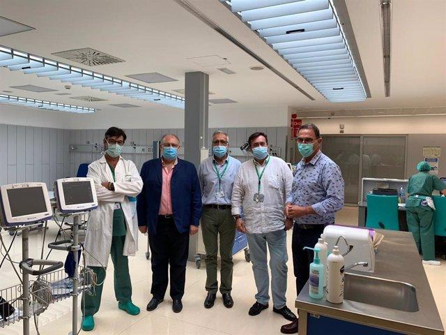 Visita al Hospital del Guadalhorce