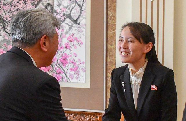 Kim Yo Jong, hermana del líder supremo de Corea del Norte