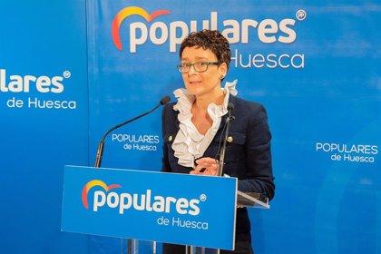 Ana Marín (PP) propone reactivar las ambulancias COVID en Huesca y Teruel, y reforzar las de Zaragoza