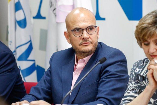 El presidente de COCEMFE, Anxo Queiruga